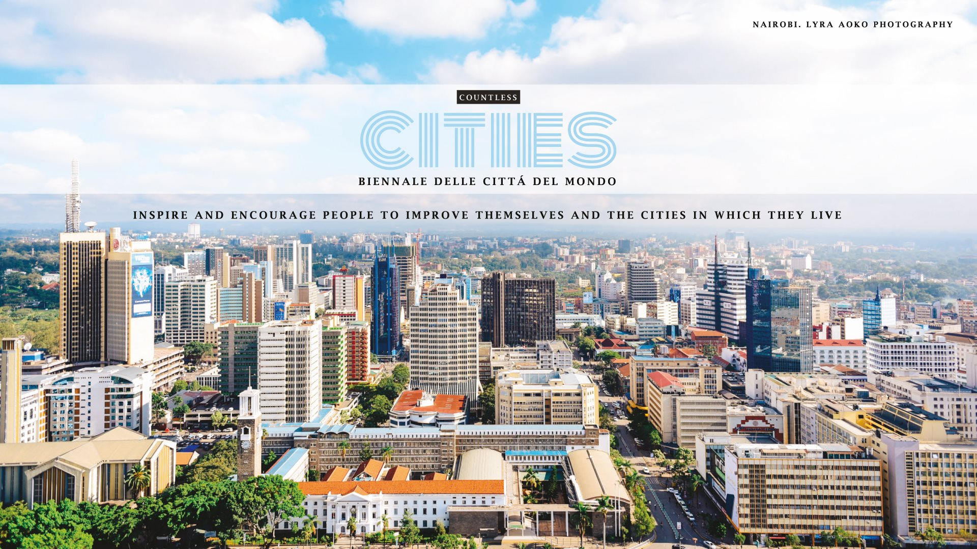 Copertina Countless Cities